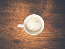 Free Coffee, Coffee Cup, Cup, Latte Stock Photo - 135105490