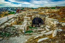 Free Sky, Rock, Landscape, Ruins Royalty Free Stock Photography - 135105547