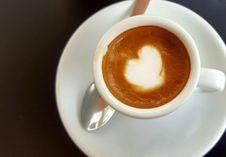 Free Coffee, Caffè Macchiato, Espresso, Coffee Milk Stock Image - 135105761