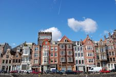 Free Amsterdam Canal Houses Stock Photos - 13524143
