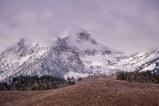Free Snowy Mountain Stock Photo - 135265900
