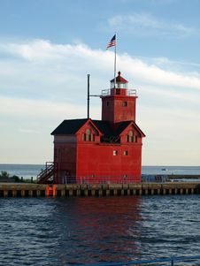 Free Lighthouse, Tower, Beacon, Water Stock Image - 135310461