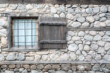 Free Stone Wall, Wall, Window, Facade Stock Image - 135310651
