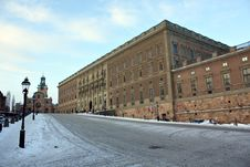 Free Royal Palace Stockholm Stock Photography - 13540592