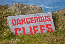 Free Danger Sign Royalty Free Stock Photography - 13545397