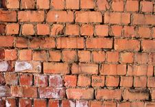 Free Red Brick Wall Stock Photo - 13549830