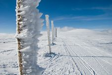 Free Mountain Navigation Sticks Stock Images - 13549854