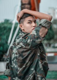 Free Photo Of Boy Wearing Camouflage Jacket Royalty Free Stock Images - 135496809