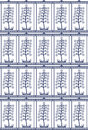 Free Seamless Tree Pattern Stock Photography - 13553392