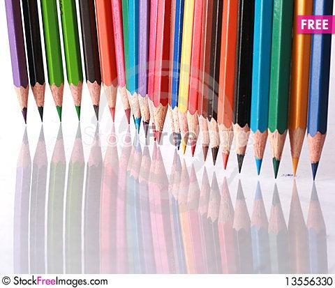 Free Color Pencils Stock Photo - 13556330