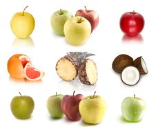 Free Collection Of Fruits Royalty Free Stock Photo - 13550045