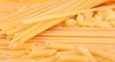 Free Many Types Of Pasta Stock Image - 13550181