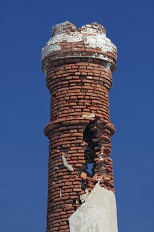 Free Decaing Chimney, Lesbos, Greece Stock Images - 13550634