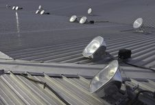 Free Roof Lights Stock Photo - 13550800