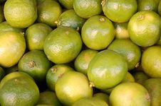 Green Fruit On The Market