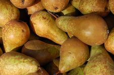 Green Fruit On The Market Royalty Free Stock Photography