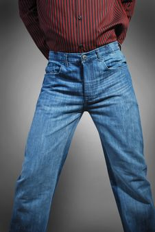Free Jeans Stock Image - 13551121