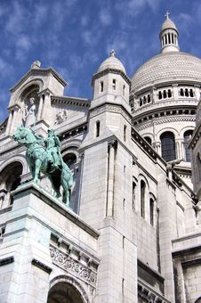 Free Sacre Coeur Paris France SUnny Day Royalty Free Stock Image - 13551346