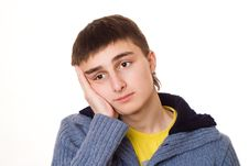 Free Handsome Young Teenager Royalty Free Stock Images - 13551969
