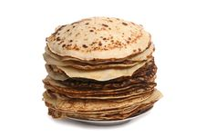 Free Fried Pancakes Stock Photography - 13552162