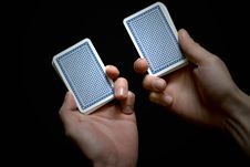 Free Playing Cards Royalty Free Stock Photos - 13552438