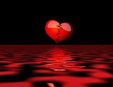 Free Broken Heart Stock Photo - 13552510