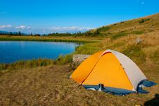 Free Tent Royalty Free Stock Image - 13552526