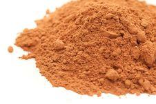 Free Cocoa Powder Stock Photography - 13552682