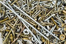 Free Screws Royalty Free Stock Photos - 13552828