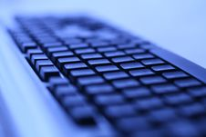 Free Dark Keyboard Background Royalty Free Stock Photo - 13552915
