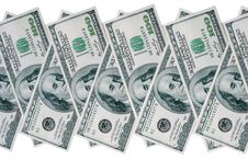 Free Stack Of American Dollars Stock Photos - 13553353