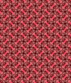 Free Red Flower Seamless Background Stock Image - 13553461