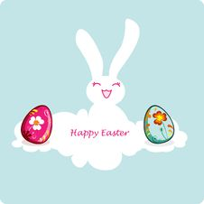 Free Easter Bunny Royalty Free Stock Photography - 13553507