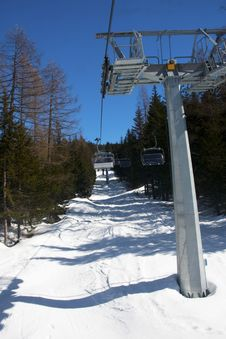 Free Chair Lift Stock Photography - 13553642