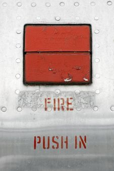 Fire Alarm Stock Image