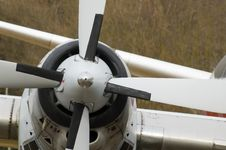Free Aircraft Propeller Stock Photography - 13554702