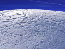 Free Blue Winter Plain Stock Images - 13554994
