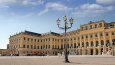Free Schonbrunn. Royalty Free Stock Photos - 13555088