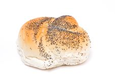Free Seeded Bread Roll Royalty Free Stock Photo - 13555205
