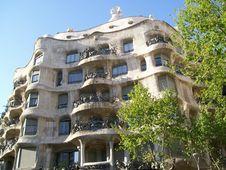 Free Barcelona S Casa Mila Stock Photos - 13555433