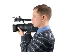 Free Cameraman Stock Photo - 13555550