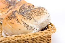 Free Seeded Bread Roll Royalty Free Stock Photos - 13555608