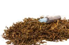 Tobacco Addiction Stock Photo