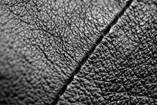 Free Black Leather. Stock Images - 13555864