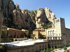 Free Montserrat Monastery Stock Photography - 13556162