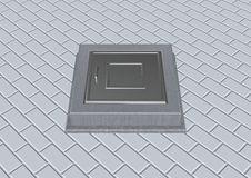 Manhole Royalty Free Stock Image