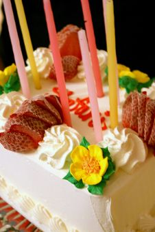 Free Birthday Cake Royalty Free Stock Photo - 13556745
