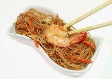Soy Spaghetti Royalty Free Stock Image