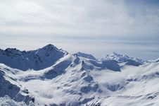 Free Caucasus Mountains Royalty Free Stock Photography - 13557397