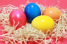 Free Colored Easter Eggs Stock Photos - 13557503